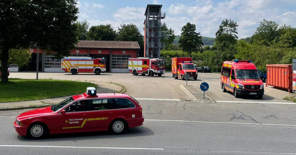 Weitere Helfer aus dem Landkreis Sigmaringen fahren in das Katastrophengebiet