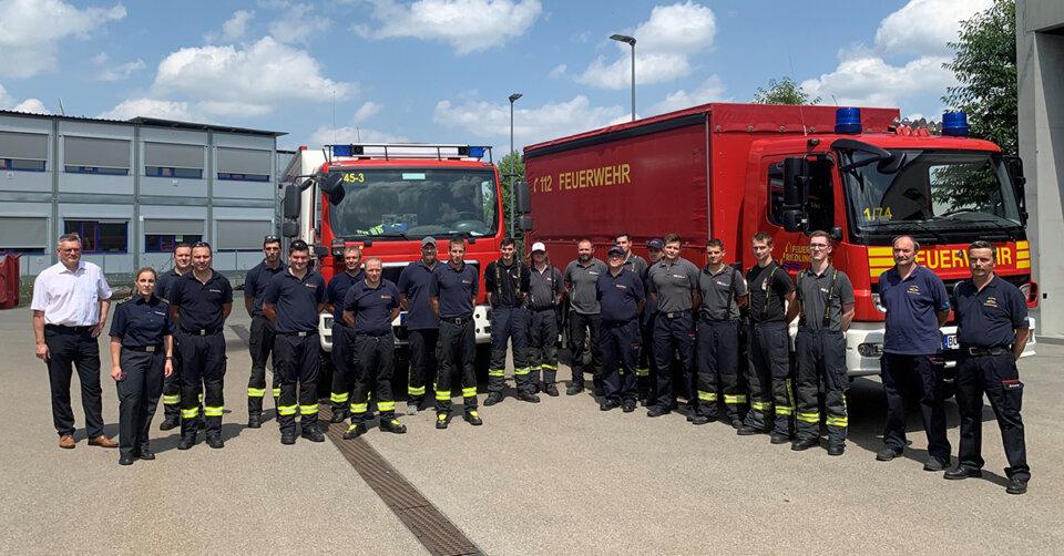 Feuerwehrleute aus dem Kreis Biberach helfen in Hochwassergebieten