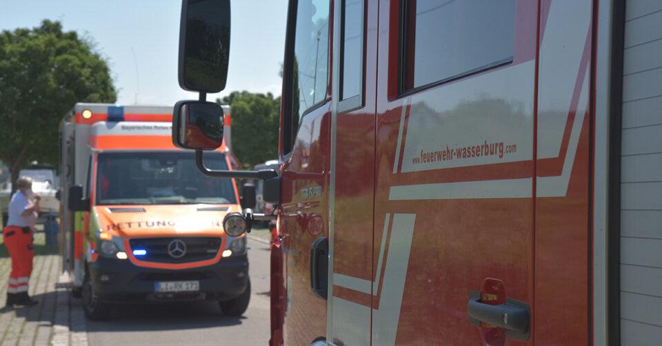 Am Donnerstag und Freitag war die Feuerwehr Wasserburg wieder gefordert