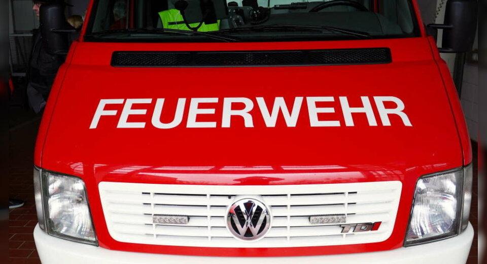 Einsatz der Feuerwehr in Wangen