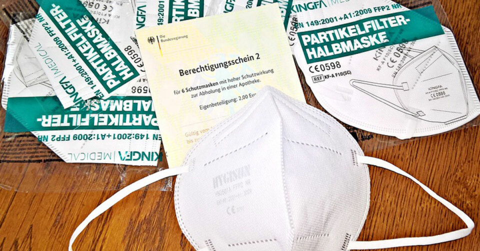 FFP2-Masken aus Apotheken: Erste Gutschein-Frist läuft in wenigen Tagen ab