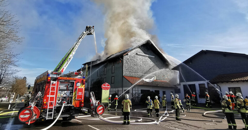 Einsatzreiches Wochenende für die Feuerwehr Lindau