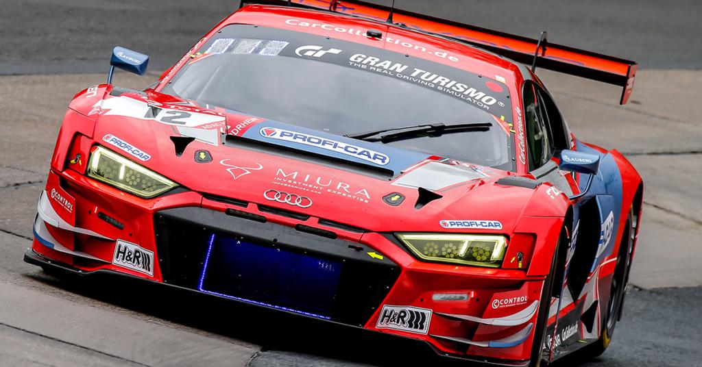 Fidel Leib sammelte im Audi R8 LMS GT3 wichtige Erfahrungen.