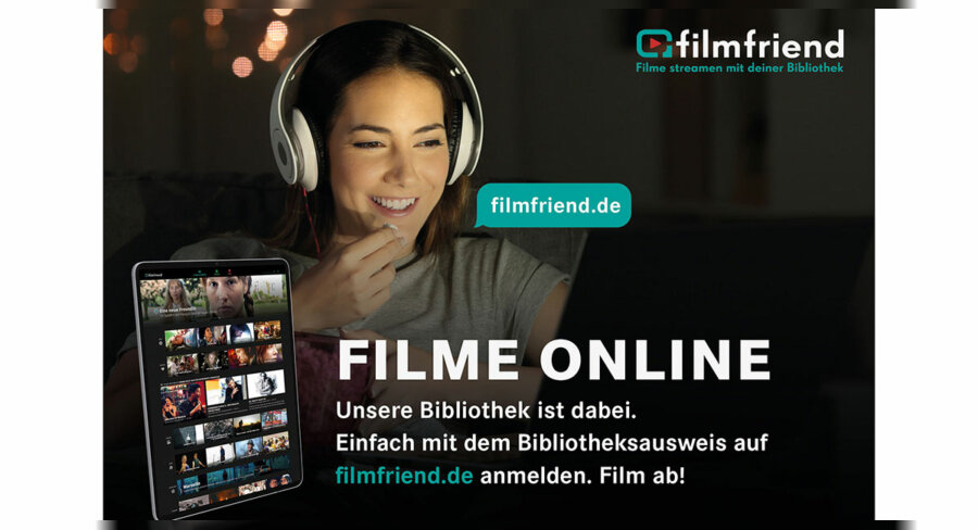 Tuttlingen, Filmfriend: Stadtbibliothek ergänzt Angebot um Video-Streaming-Portal