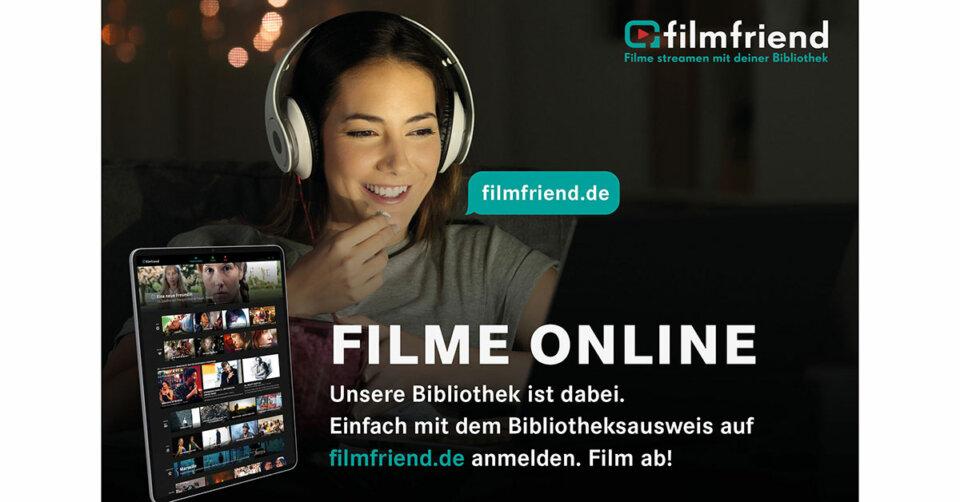 Filmfriend: Stadtbibliothek ergänzt Angebot um Video-Streaming-Portal