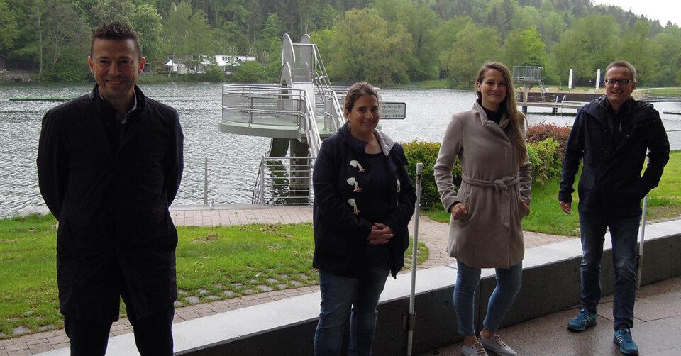 Für Wasserratten: Das Fläppe öffnet nach Pfingsten