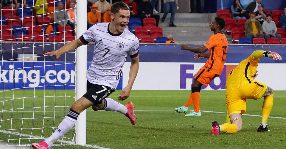 """""""Geiler Sieg"""": Wirtz-Doppelpack bringt deutsche U21 gegen Holland früh auf die Siegerstraße"""