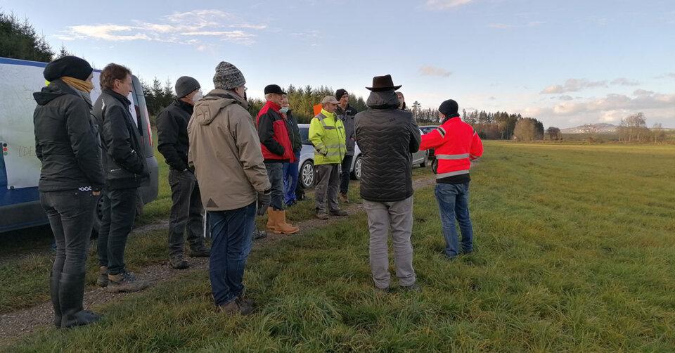 Flurneuordnung unterstützt die Revitalisierung des Betzenweiler Riedes