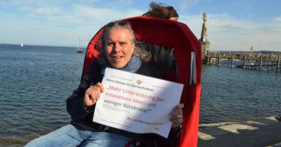 Fotoaktion für Barriere-Freiheit wird ins Leben gerufen