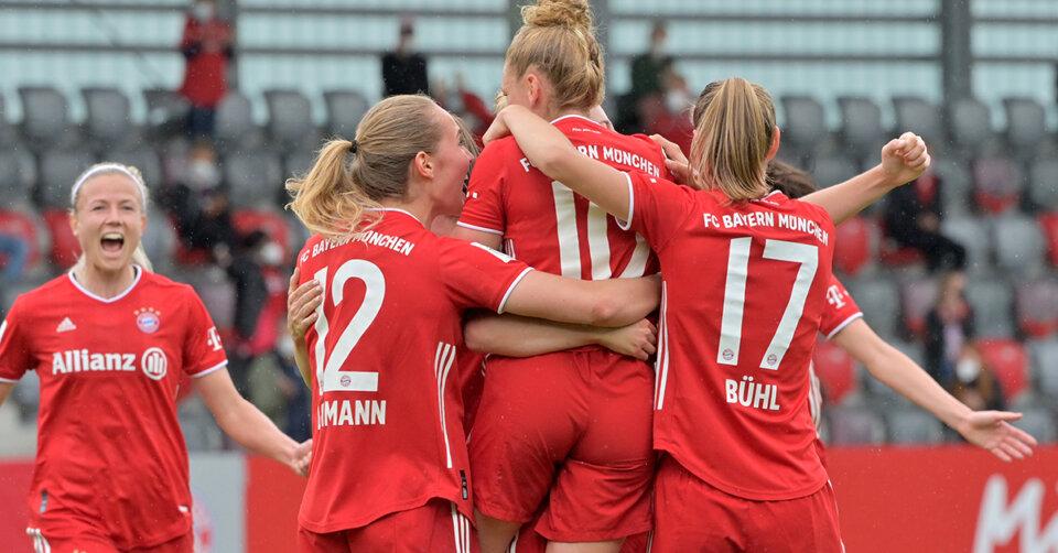 Bayerns Frauenmannschaft ist Deutscher Meister