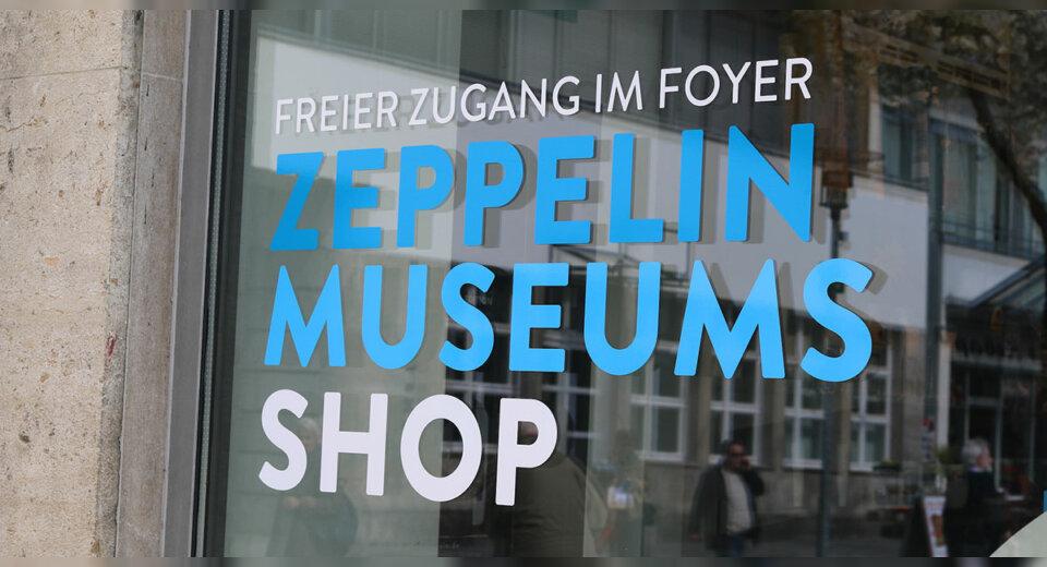 Weihnachtsshopping im Zeppelin Museum!
