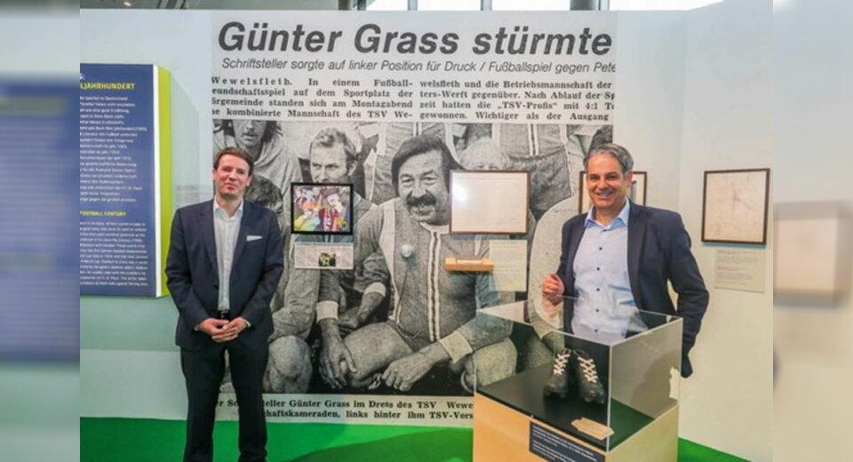 """Fußballmuseum zeigt """"Günter Grass: Mein Fußballjahrhundert"""""""