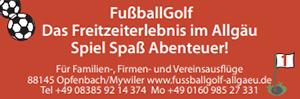 Fußballgolf im Allgäu
