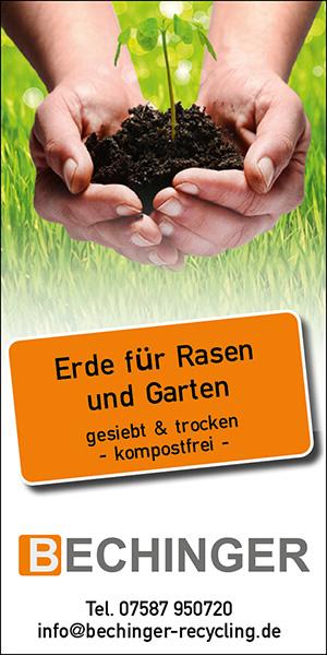 Erde für Rasen und Garten - Bechinger