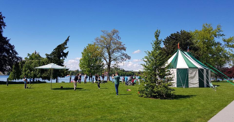 Gartenschau freut sich über mehr als 6.000 Besucher am ersten Wochenende