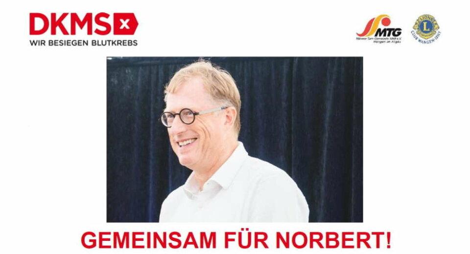 MTG und Lions-Club suchen Lebensretter für Norbert Martin