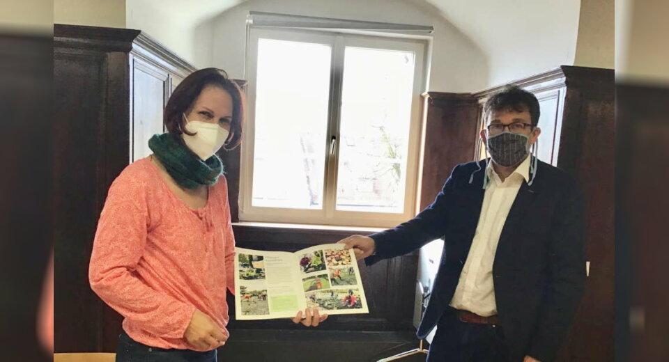 Der BUND-Aulendorf ist im Dialog mit der Stadt über städtische Blühwiesen