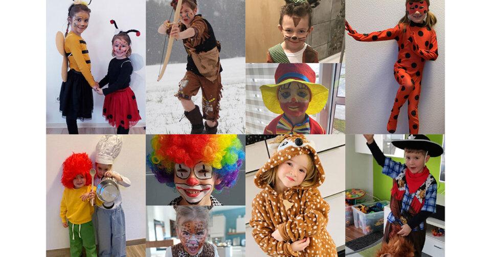 Piraten, Clowns und vieles mehr beim KNAX-Fasnetswettbewerb