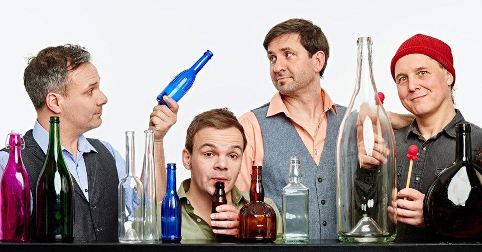 """""""GlasBlasSing"""" – Musik auf Flaschen: Würzig-herb, hochprozentig und äußerst virtuos! Freikarten stehen zur Verlosung bereit"""
