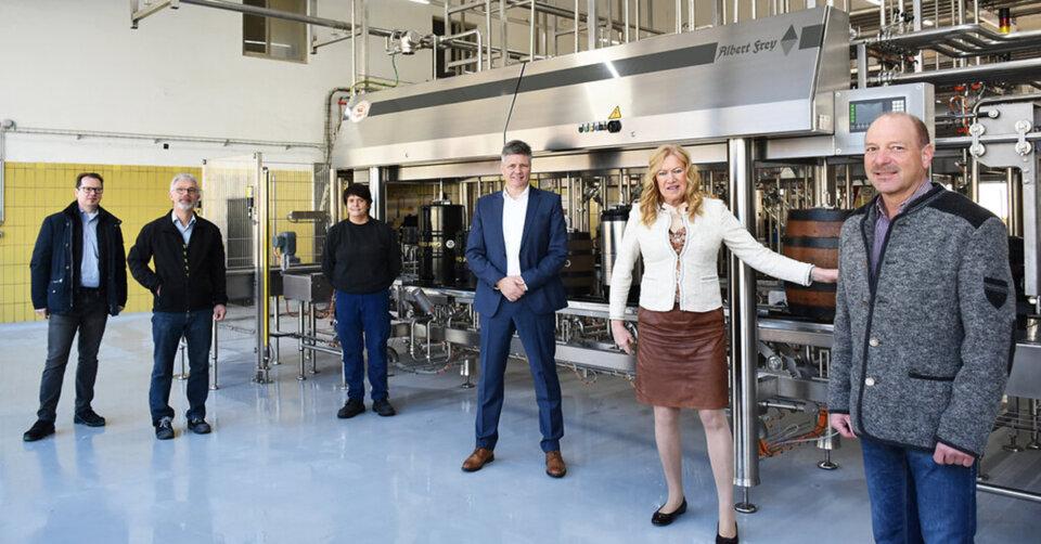 Brauerei Gold Ochsen: Modernisierung statt Stillstand
