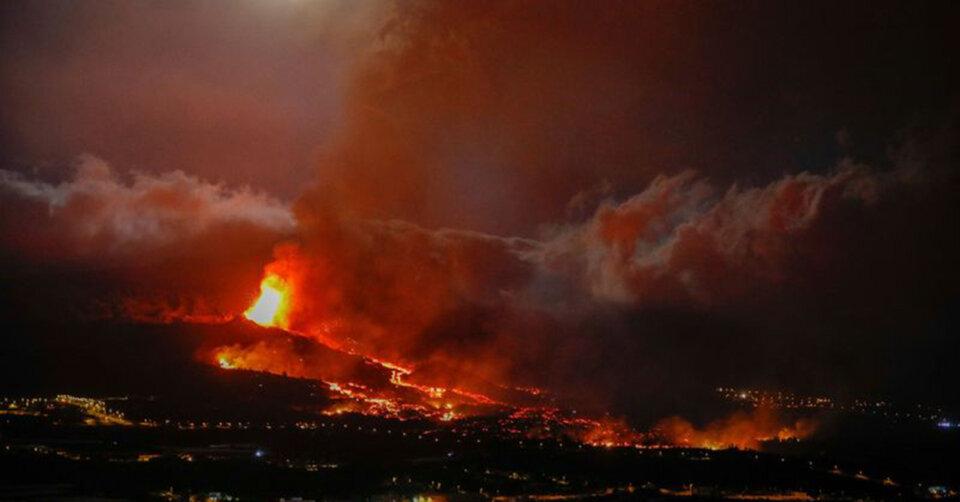 Große Schäden durch Vulkan auf Kanareninsel
