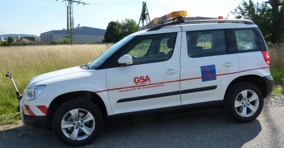 Straßennetz in Sigmaringen und den Teilorten wird zur Straßenzustandserfassung befahren und aufgenommen
