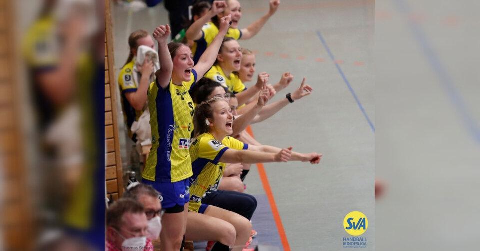 SVA-Handballerinnen gewinnen gegen Frankfurt