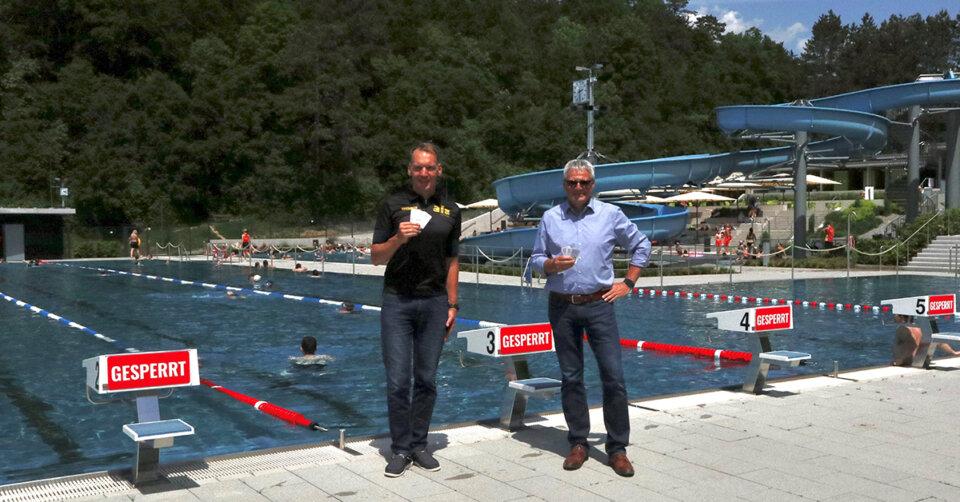 Stadtwerke Sigmaringen unterstützt Schwimmangebot des ALZ Sigmaringen e.V.