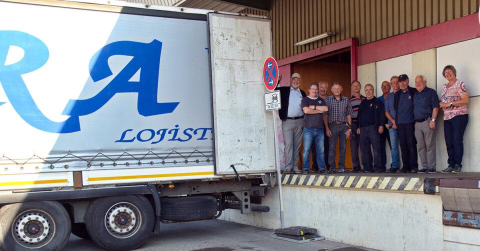 Hilfsgüter für Telawi: Zwei Lastwagen losgeschickt