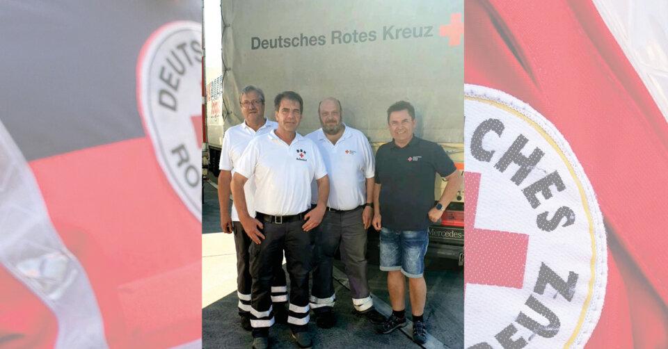 Spendenaufruf in und um Aulendorf ein voller Erfolg: Hilfsgütertransport nach Ahrbrück im Oberen Ahrtal