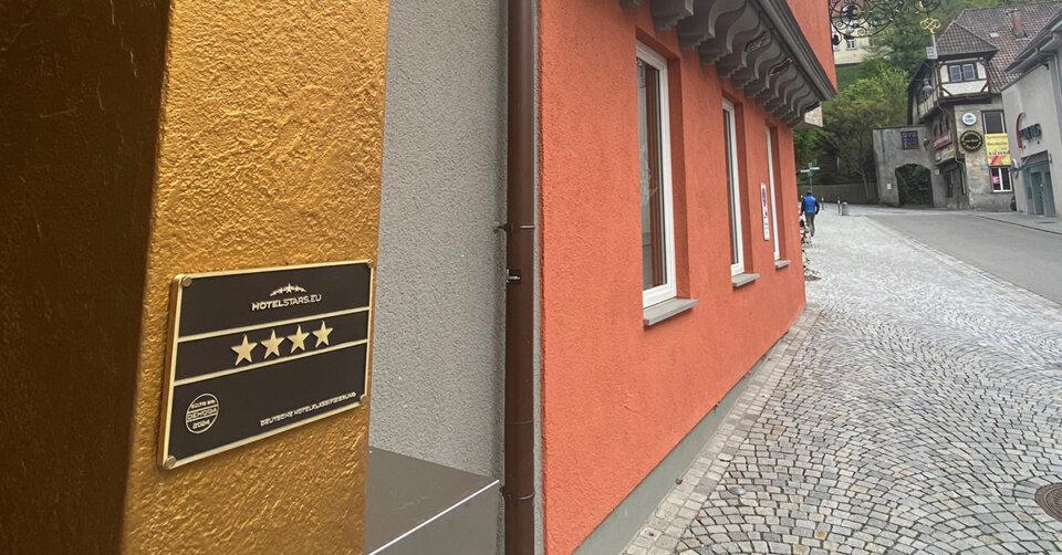4 Sterne Klassifizierung für Ravensburger Hotel