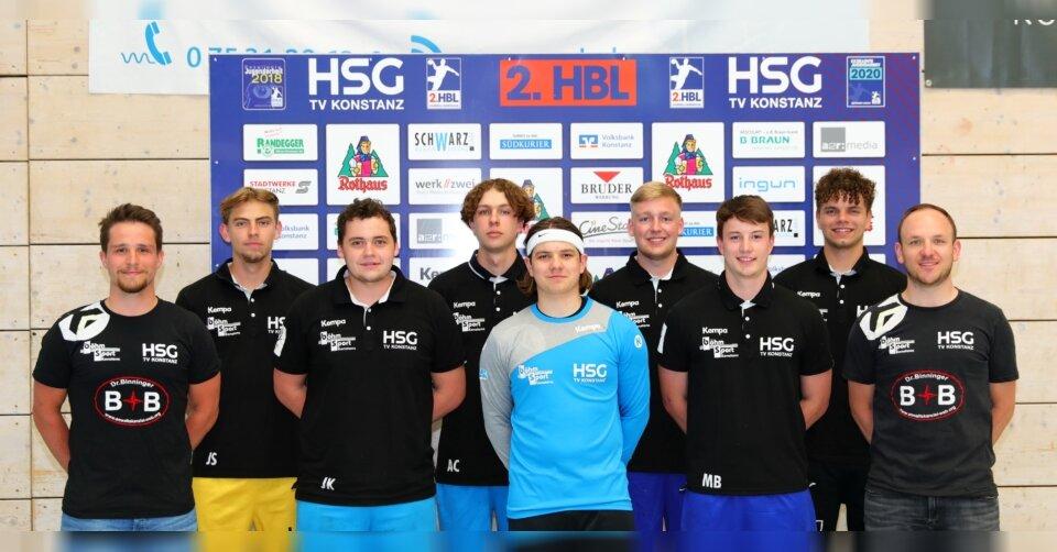 HSG Konstanz stattet sieben eigene Jugendspieler mit Verträgen für Drittliga-U23 aus