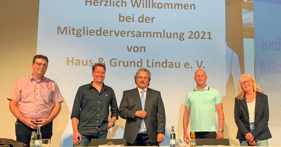 """Statt Umwandlungsverbot mehr Bauland ausweisen – Haus & Grund Lindau lehnt """"Interventionen des Staates"""" auf dem Wohnungsmarkt ab"""