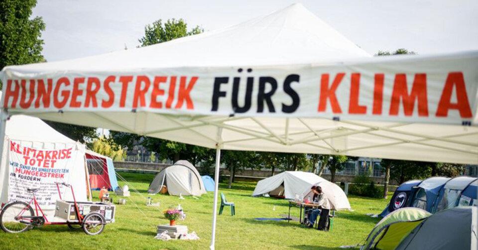 Hungerstreik: Klimaaktivisten drohen mit Verschärfung