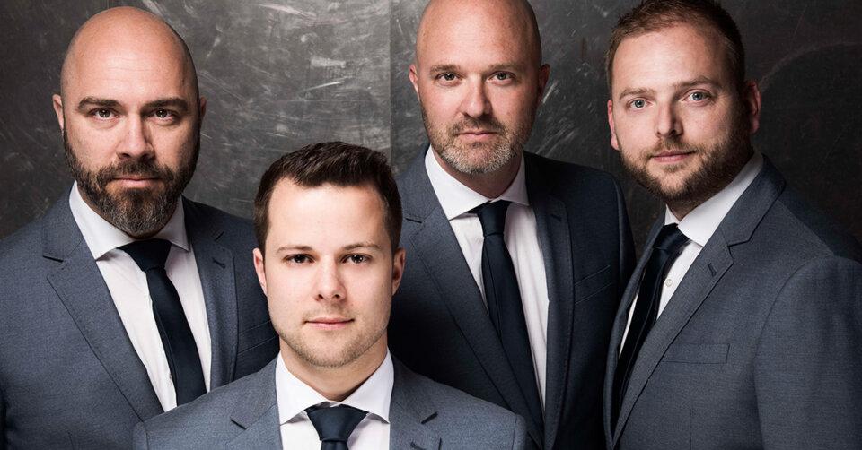 Zum Saisonabschluss: Die A-Cappella Gruppe iNtrmzzo kommt mit Pop, Dance, Klassik und Gangsta' Rap in die Stadthalle