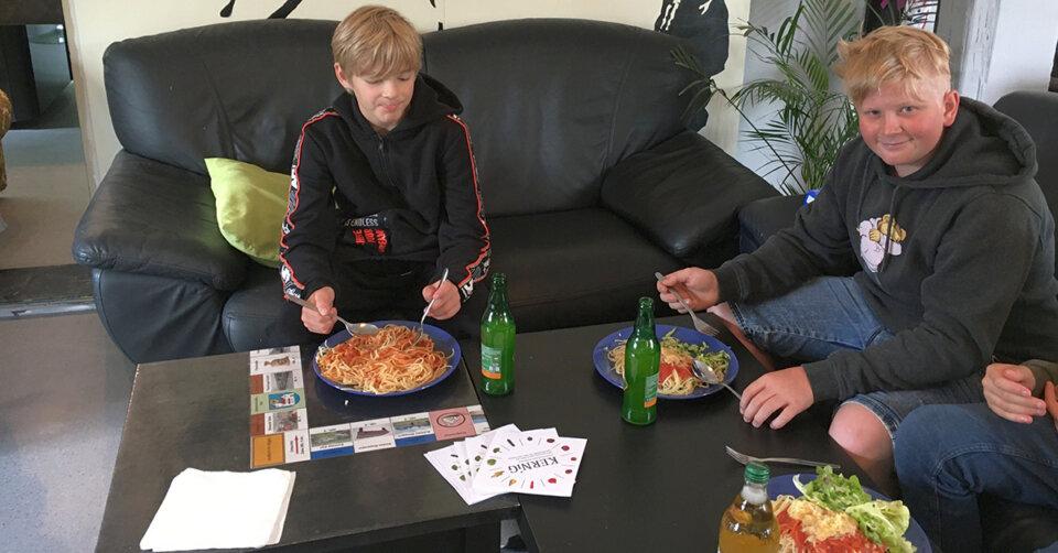 Nachhaltigkeit beim Spaghetti-Tag im Jugendhaus Leutkirch