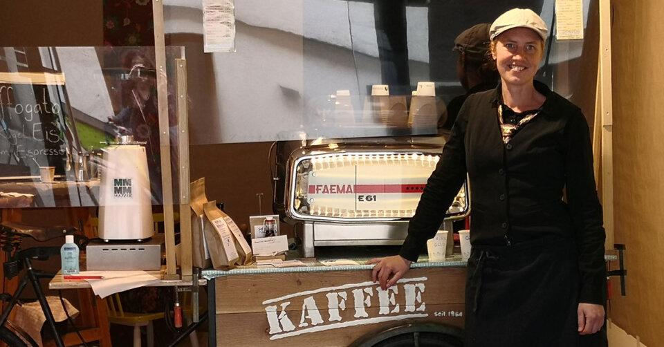 Neuer Kaffeegenuss to go in der Adlerstraße