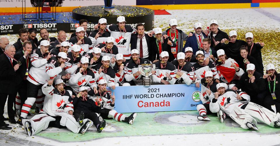 Kanada ist neuer Eishockey-Weltmeister