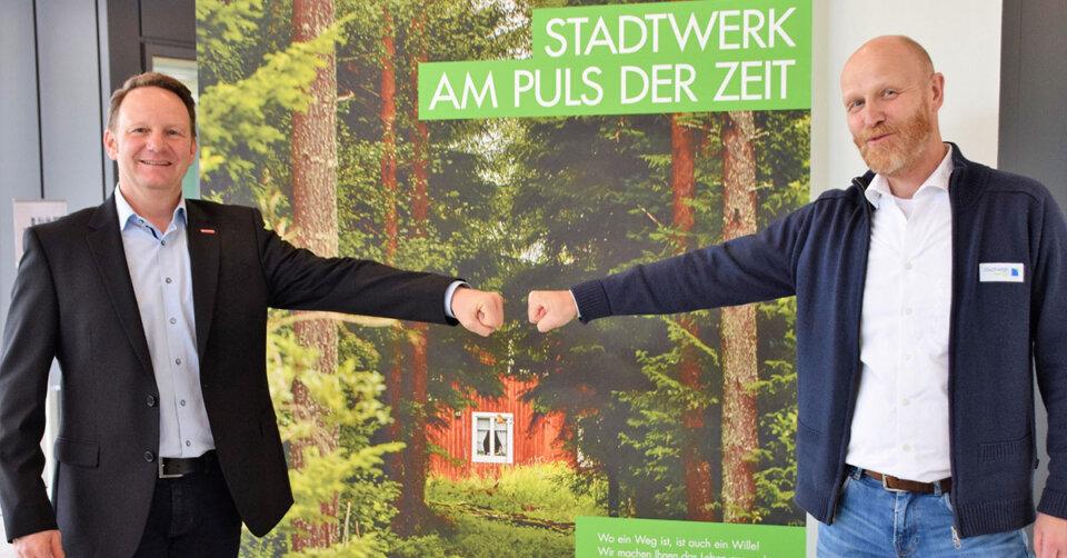Stadtwerk und Kreishandwerkerschaft Bodenseekreis kooperieren