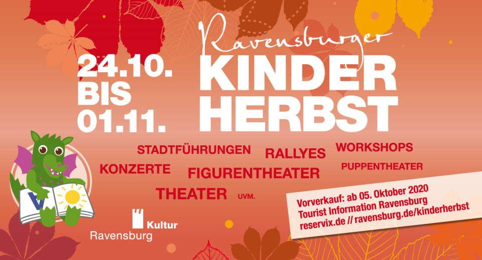 Der Ravensburger Kinderherbst – spannende Herbstferien sind garantiert