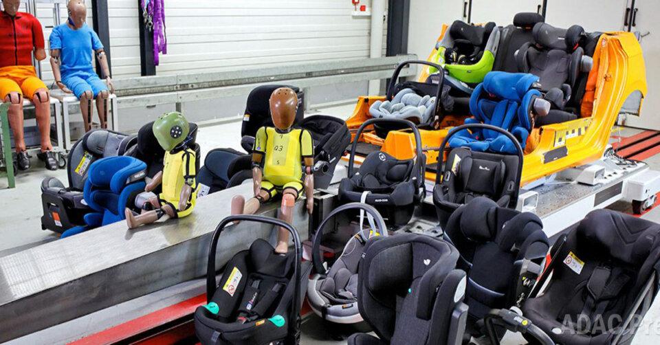26 Sitze im ADAC Kindersitztest Frühling 2021