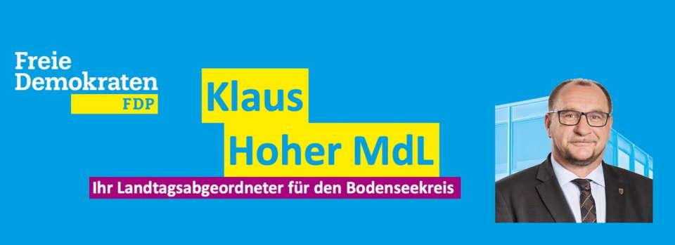 """FDP-Politiker Klaus Hoher: """"Leider trifft es die Falschen"""""""