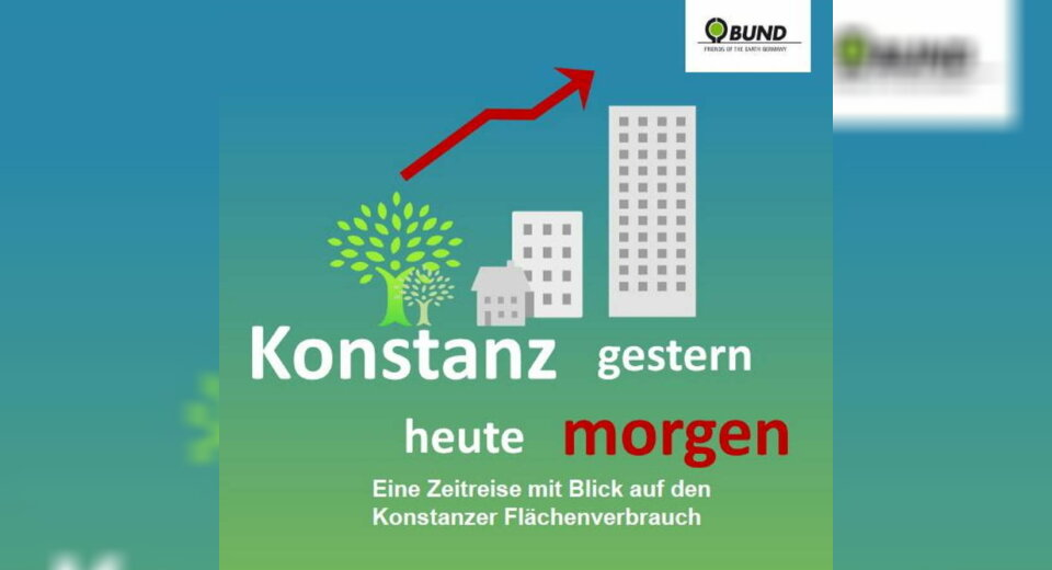 Neue Ausstellung zum Flächenverbrauch in Konstanz