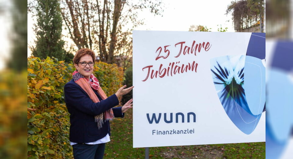 Finanzkanzlei Wunn in Kressbronn feiert 25jähriges Jubiläum