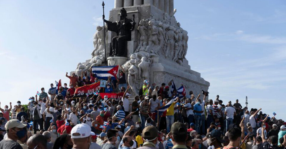 Tausende protestieren gegen Regierung in Kuba