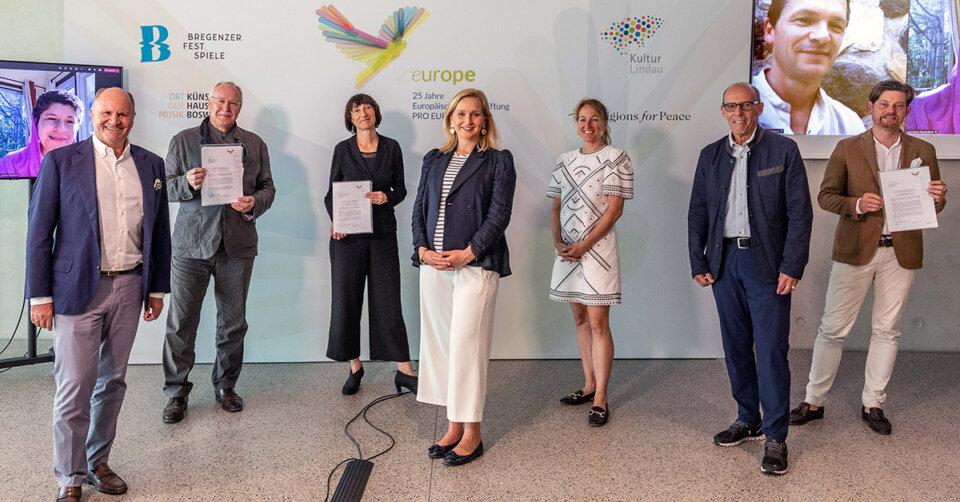 Europäische Kulturstiftung Pro Europa gibt Preisträgerinnen und Preisträger für Europäischen Kulturpreis bekannt