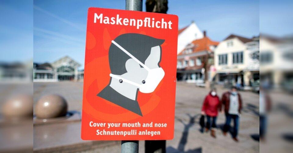 Land gegen Aufhebung der Maskenpflicht beim Einkauf
