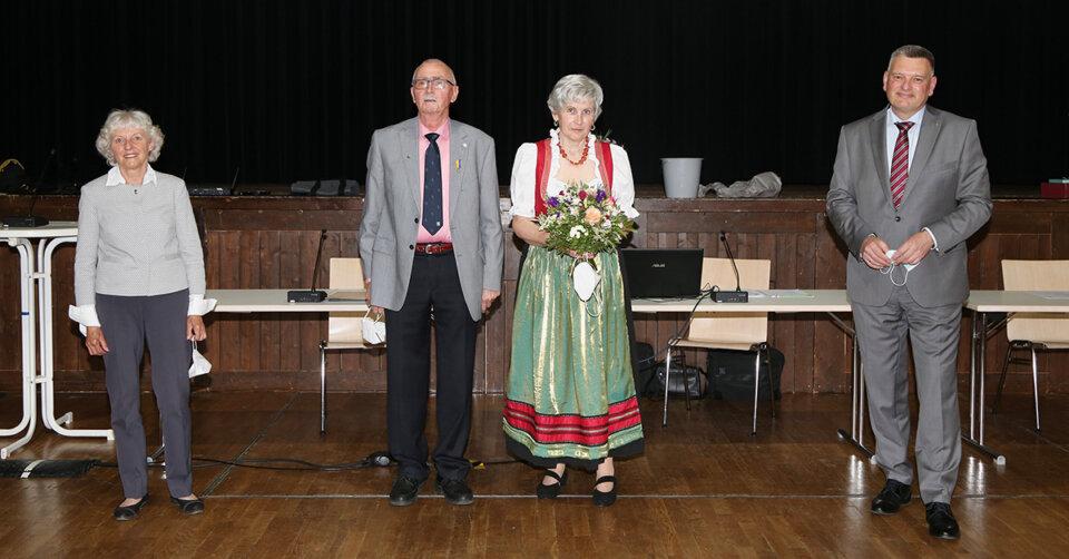Auszeichnung: Landesehrennadel für Erwin Gering