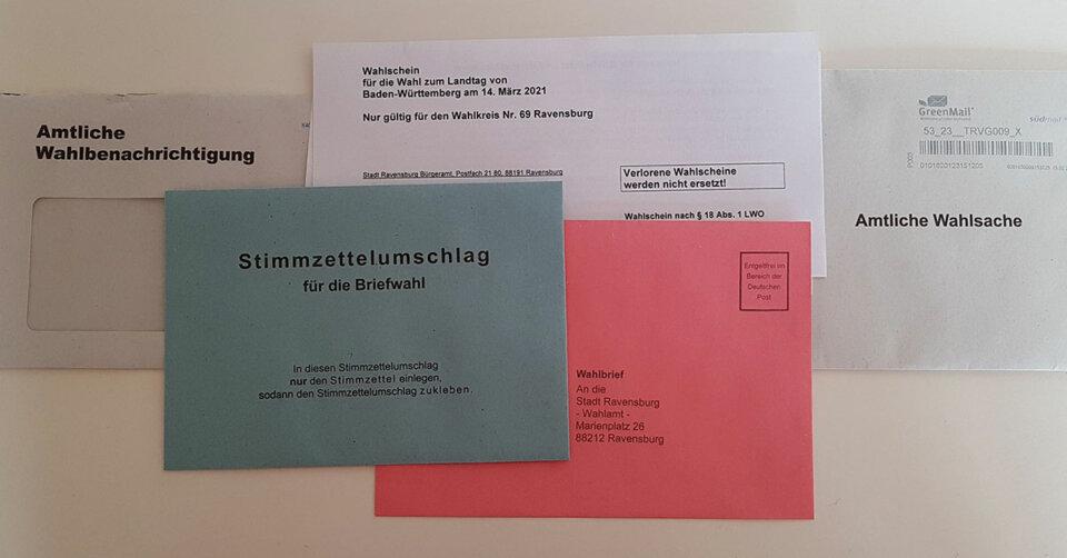 Landtagswahl: Briefwahl auf Rekordhoch
