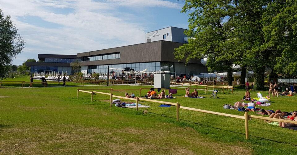 Freier Eintritt im neuen Strandbad Lindau – Therme öffnet wahrscheinlich erst Ende Juni